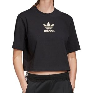 Adidas Cropped Top T-Shirt